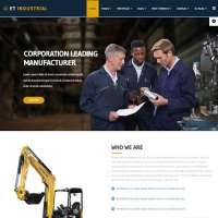 Industrial Joomla Template