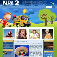 Kids School 2 Joomla Template