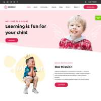 Kid Zone Joomla Template