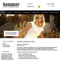 Koopper Black Joomla Template