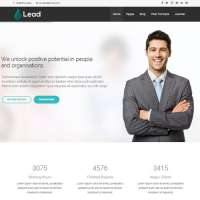 Lead Joomla Template