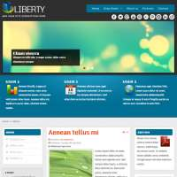 Liberty Joomla Template