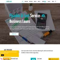 Loan Joomla Template