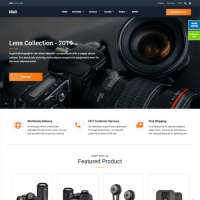 Mall Joomla Template