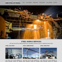 Metal Steel Joomla Template