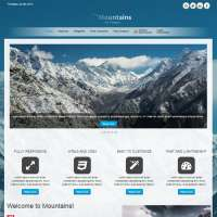 Mountains Joomla Template