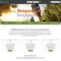 Natural Way Joomla Template