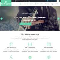 New York Joomla Template