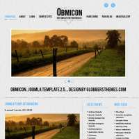 Obmicon Blue Joomla Template
