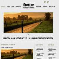 Obmicon Green Joomla Template