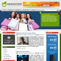 Open Mint Joomla Template