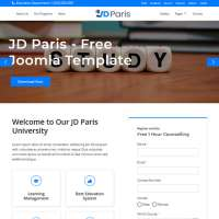 Paris Joomla Template