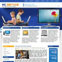 PC Service Joomla Template