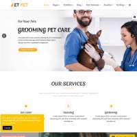 Pet Joomla Template