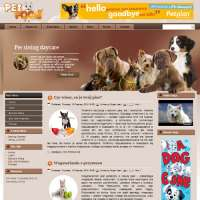 Pet Food Joomla Template