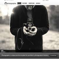 Photographer Joomla Template