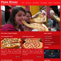 Pizza House Joomla Template