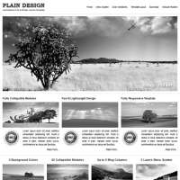 Plain Design Joomla Template
