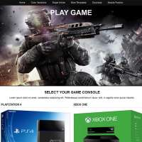 Play Game Joomla Template