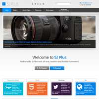 Plus Joomla Template
