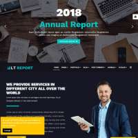 Report Joomla Template