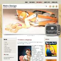 Retro Design Joomla Template