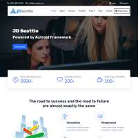 Seattle Joomla Template