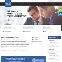 Shine Joomla Template