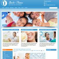Smile Clinic Joomla Template