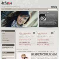 So Sassy Joomla Template
