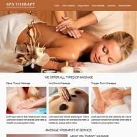 Spa Therapy Joomla Template