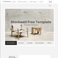 Stockwell Joomla Template