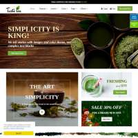 Taste Tea Joomla Template
