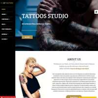 Tattoo Joomla Template