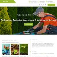 Tea Tree Joomla Template