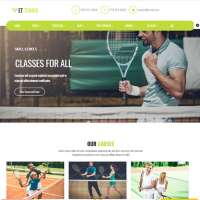Tennis Joomla Template