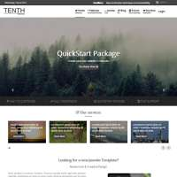 Tenth Joomla Template