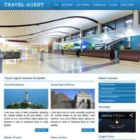 Travel Agent Joomla Template
