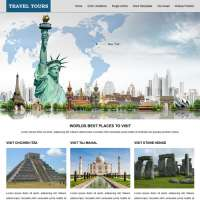 Travel Tours Joomla Template