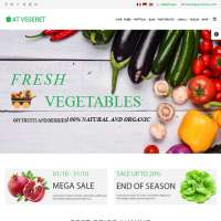 Vegeret Joomla Template