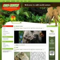 Wild Nature Joomla Template