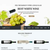 Wine Joomla Template