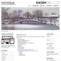 Winter3R Joomla Template