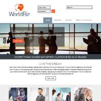 World Biz Joomla Template